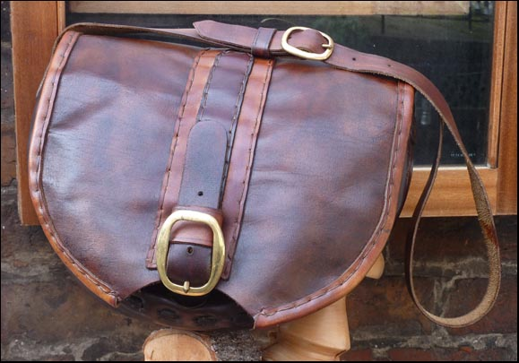 handbag made from soft leather